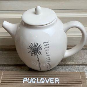 New! RAE DUNN Stemline Dandelion Teapot HTF 🎁